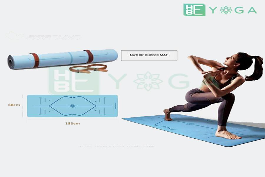 thảm yoga định tuyến pu cao cấp