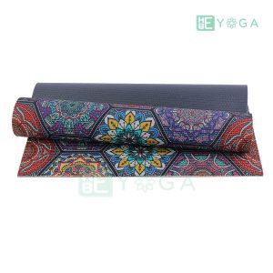 Thảm Yoga PU Relax hoa văn mỹ thuật (HVMT1) 1