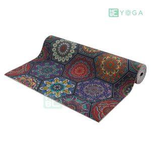 Thảm Yoga PU Relax hoa văn mỹ thuật (HVMT1) 2