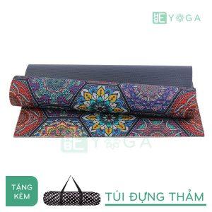 Thảm Yoga PU Relax hoa văn mỹ thuật (HVMT1)
