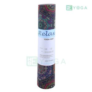 Thảm Yoga PU Relax hoa văn mỹ thuật (HVMT1) 4