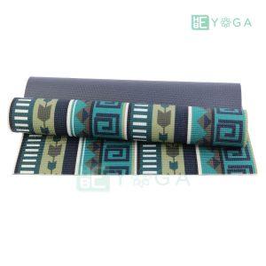 Thảm Yoga PU Relax hoa văn mỹ thuật (HVMT2) 1
