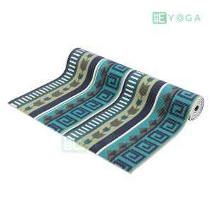 Thảm Yoga PU Relax hoa văn mỹ thuật (HVMT2) 2