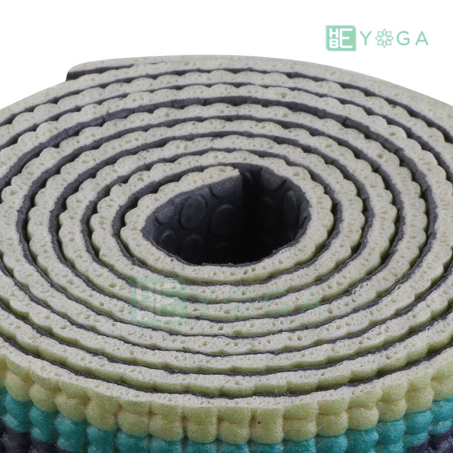 Thảm Yoga PU Relax hoa văn mỹ thuật (HVMT2) 3