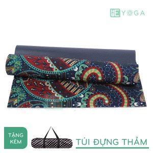 Thảm Yoga PU Relax hoa văn mỹ thuật (HVMT3)