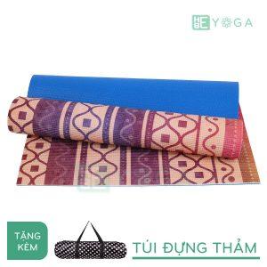 Thảm Yoga PU Relax hoa văn mỹ thuật (HVMT4)