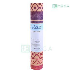 Thảm Yoga PU Relax hoa văn mỹ thuật (HVMT4) 4
