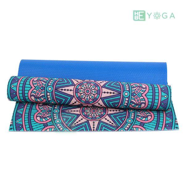 Thảm Yoga PU Relax hoa văn mỹ thuật (HVMT5) 1