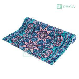 Thảm Yoga PU Relax hoa văn mỹ thuật (HVMT5) 2