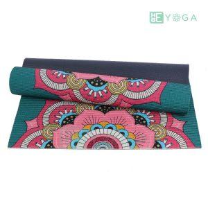 Thảm Yoga PU Relax hoa văn mỹ thuật (HVMT7) 1