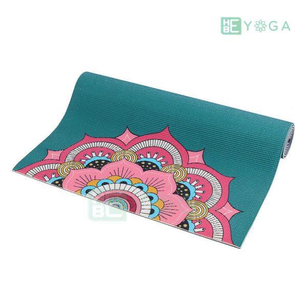Thảm Yoga PU Relax hoa văn mỹ thuật (HVMT7) 2