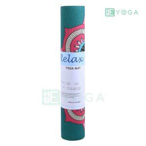 Thảm Yoga PU Relax hoa văn mỹ thuật (HVMT7) 4