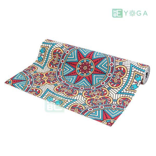 Thảm Yoga PU Relax hoa văn mỹ thuật (HVMT8) 2