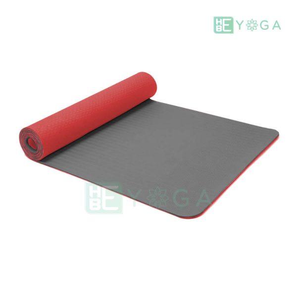 Thảm Yoga TPE Eco Friendly màu đỏ 1