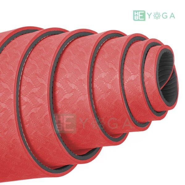 Thảm Yoga TPE Eco Friendly màu đỏ 2