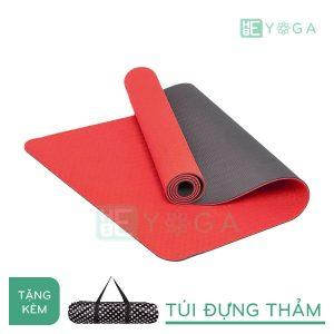 Thảm Yoga TPE Eco Friendly màu đỏ