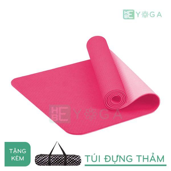 Thảm Yoga TPE Eco Friendly màu hồng