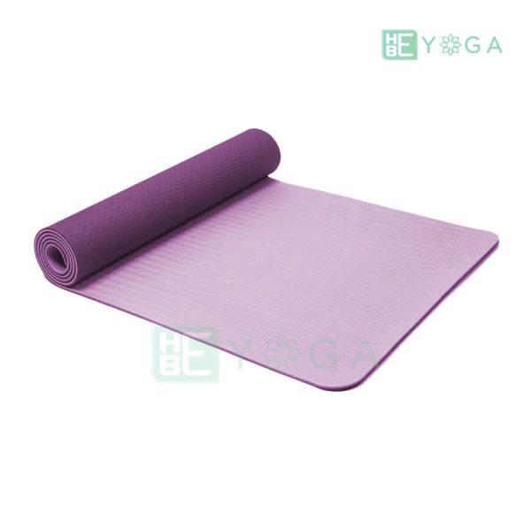 Thảm Yoga TPE Eco Friendly màu tím 1