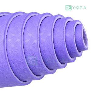 Thảm Yoga TPE Eco Friendly màu tím môn 2