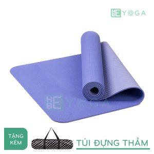 Thảm Yoga TPE Eco Friendly màu tím môn