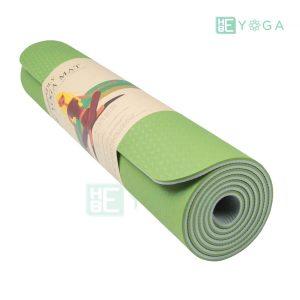Thảm Yoga TPE Eco Friendly màu xanh lá 3
