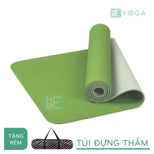 Thảm Yoga TPE Eco Friendly màu xanh lá