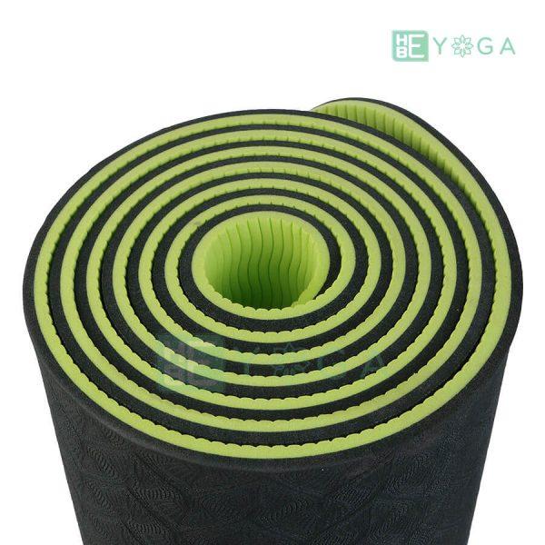 Thảm Yoga TPE Eco Friendly màu xanh rêu 2