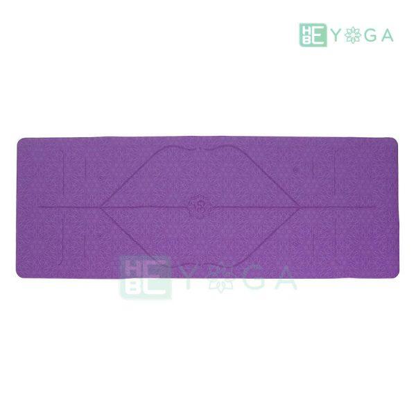 Thảm Yoga Định Tuyến PU Cao Cấp (Màu Tím) 1