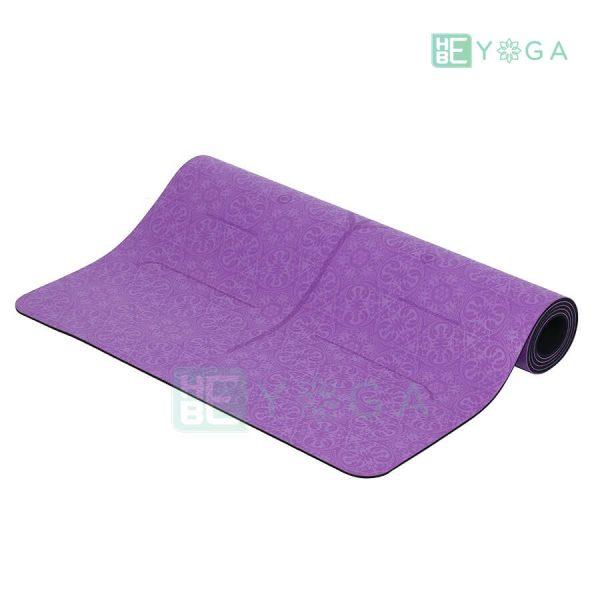 Thảm Yoga Định Tuyến PU Cao Cấp (Màu Tím) 2