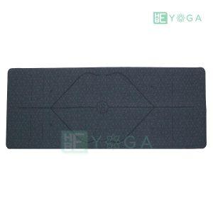 Thảm Yoga Định Tuyến PU Cao Cấp (Màu Xám) 1