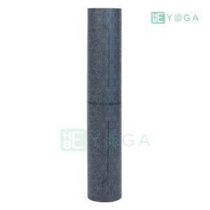 Thảm Yoga Định Tuyến PU Cao Cấp (Màu Xám) 3