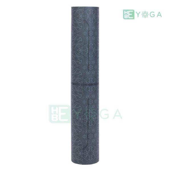 Thảm Yoga TPE Định Tuyến Cao Cấp (Màu Xám) 3