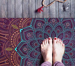 Thảm Yoga du lịch hoa văn độc đáo 3