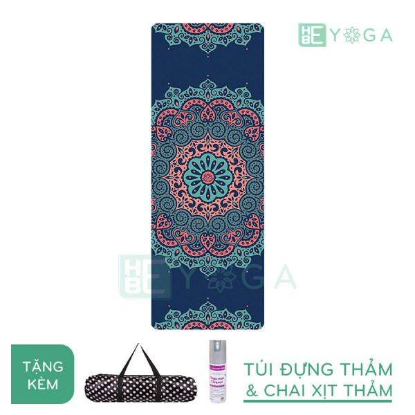 Thảm Yoga du lịch hoa văn độc đáo (hvdd1)
