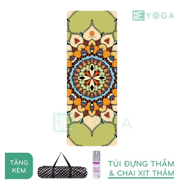 Thảm Yoga du lịch hoa văn độc đáo (hvdd2)