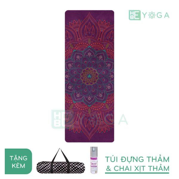 Thảm Yoga du lịch hoa văn độc đáo (hvdd3)