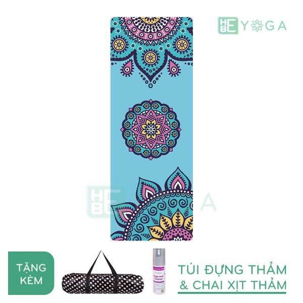Thảm Yoga du lịch hoa văn độc đáo (hvdd6)