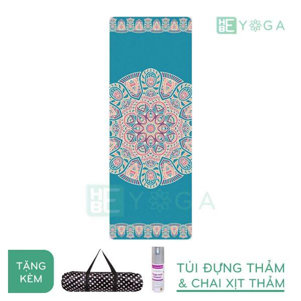 Thảm Yoga du lịch hoa văn độc đáo (hvdd8)