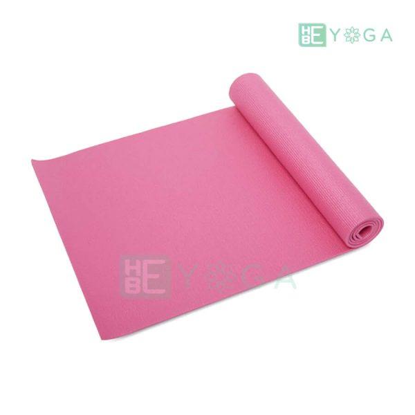 Thảm Yoga Ribobi trơn màu hồng 1