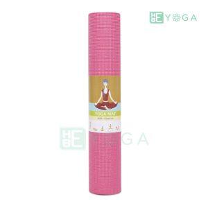 Thảm Yoga Ribobi trơn màu hồng 2
