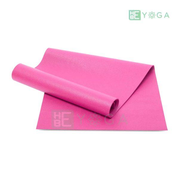 Thảm Yoga Ribobi trơn màu hồng