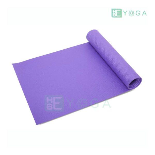 Thảm Yoga Ribobi trơn màu tím môn 1