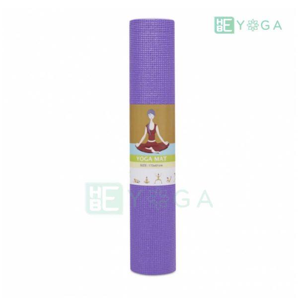 Thảm Yoga Ribobi trơn màu tím môn 2
