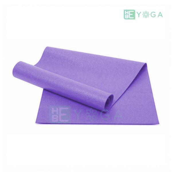 Thảm Yoga Ribobi trơn màu tím môn