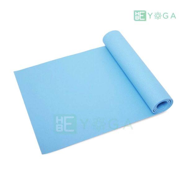 Thảm Yoga Ribobi trơn màu xanh dương 1