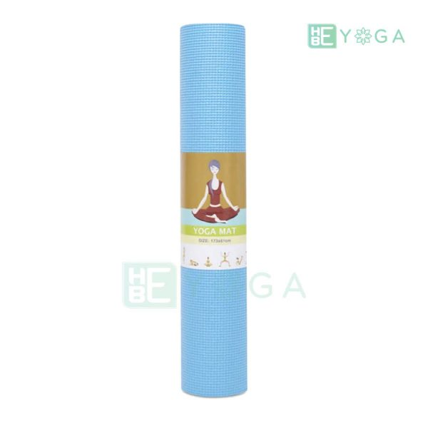 Thảm Yoga Ribobi trơn màu xanh dương 2