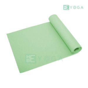 Thảm Yoga Ribobi trơn màu xanh lá 1