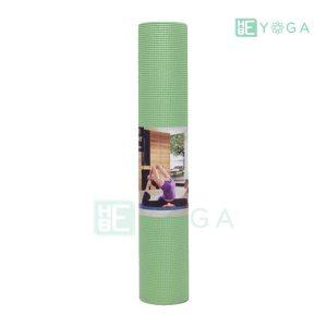 Thảm Yoga Ribobi trơn màu xanh lá 2