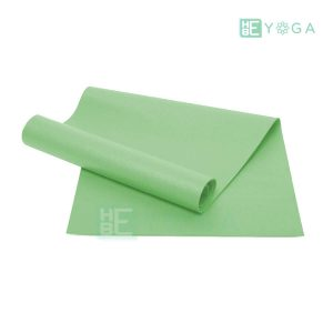Thảm Yoga Ribobi trơn màu xanh lá