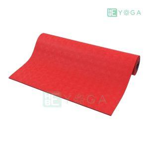 Thảm Yoga TPE Relax Cao su non 6mm 2 lớp màu đỏ 1